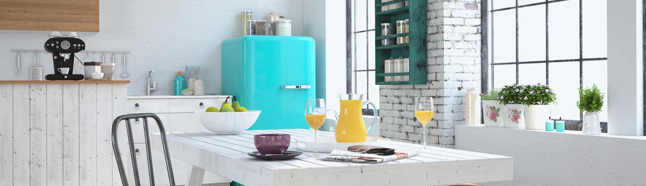 Comment décorer une cuisine pour avoir une pièce de vie arty et haute en couleurs
