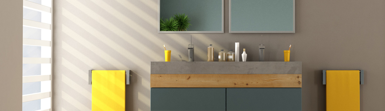 Une décoration naturelle pour une salle de bain relaxante