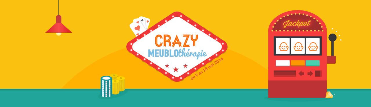 [JEU CONCOURS] Crazy Meublothérapie : de nombreux cadeaux déco et d'aménagement à gagner