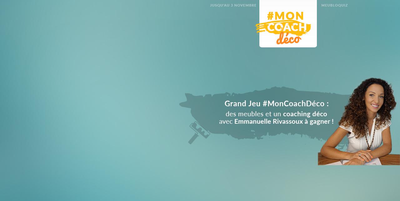 Grand Jeu #MonCoachDéco