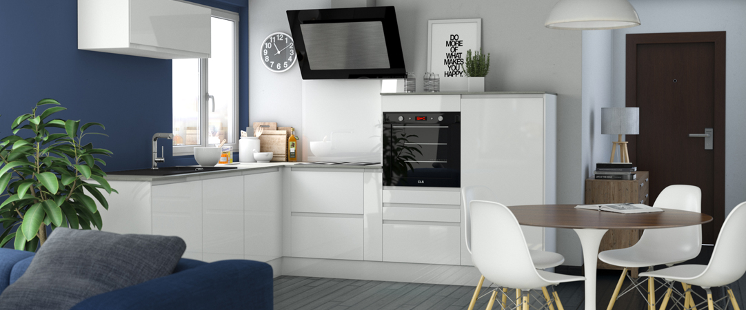 Offrez-vous une cuisine ouverte sans îlot avec OSKAB
