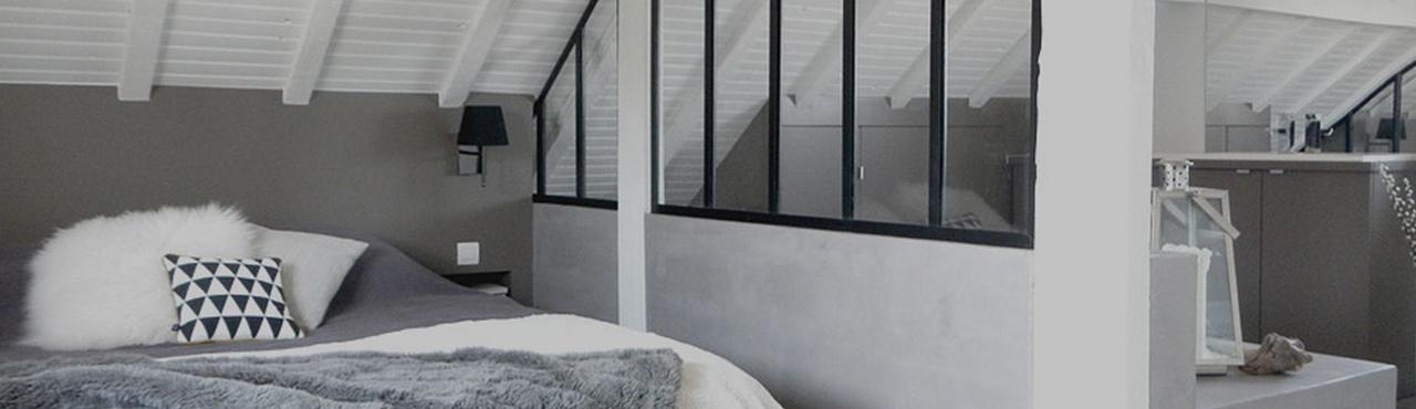 comment am nager des combles dans une maison ou un. Black Bedroom Furniture Sets. Home Design Ideas